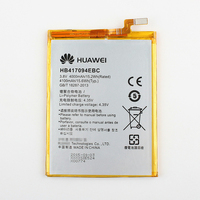 Original Huawei HB417094EBC Rechargeable Li Ion Phone Battery For Huawei Ascend Mate 7 MT7 TL00 TL10