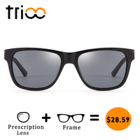 TRIOO Quality Acetate Prescription Glasses Men Unisex UV Block Eyeglasses Eyewear Cool Sports Driving Summer Myopia