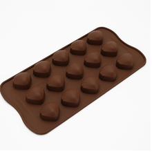 5Pcs Nonstick Cake Decorating Tools Silicone Chocolate Mold Fondant Molds Cookies Bakeware Tools Kitchen Jelly Pudding Mould diy kitchen cake jelly pudding mould blue 12 pcs