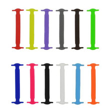 10Pcs/Lot New No Tie Silicone Shoe Laces Creative Shoelaces For Unisex Lace All Sneaker Suitable for Women Running Elastic Silic