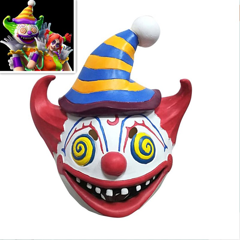 ZSQH Fortress night fortnited Battle Royale Halloween Cosplay terror Latex Mask Valkyrie Clown Cosplay Fortnight kids children