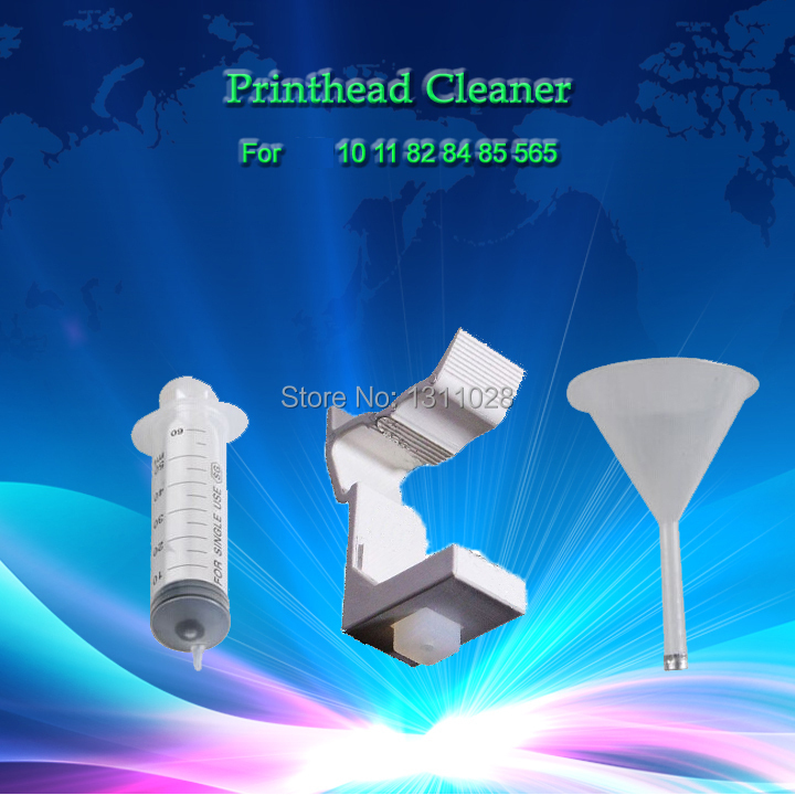 INKWAY maintenance tool for hp 10 11 82 84 85 565 Printhead, print head refill ink tools for Designjet 100 500 120 130 etc.