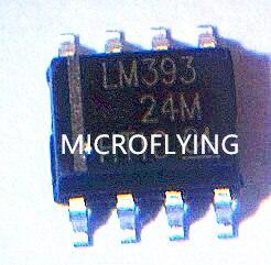 100 Pcs Lm393 Lm393dr Sop8 Low-power-spannungsvergleicher Chip Auf Der Ganzen Welt Verteilt Werden