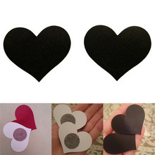 Hot Sale 4 Colors Breast Petals Heart Shape Adhesive Nipple Covers Breasts and Sticker Emptied Chest 1 Pair