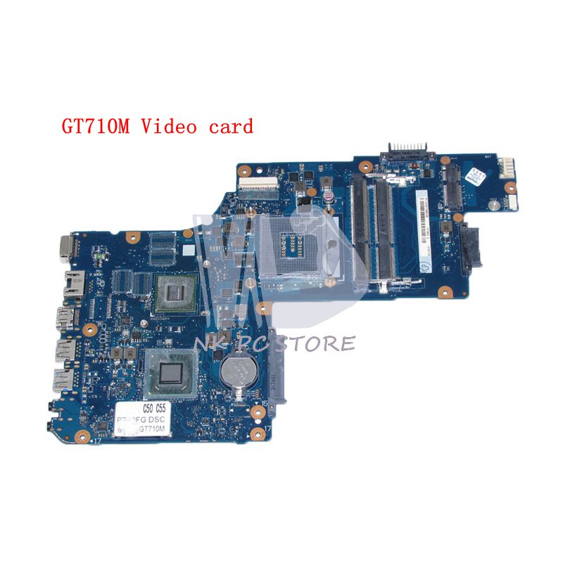 NOKOTION H000062020 Main board For Toshiba Satellite C50 C55 15.6 screen Laptop Motherboard HM76 DDR3 GT710M Video card