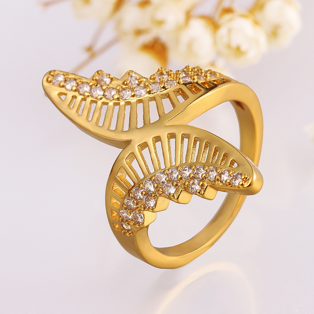 Magnificent Beautiful Gold Rings For Girls Without Stones Gallery ...