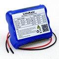 Liitokala Новая камера видеонаблюдения с литий-ионным аккумулятором 12 В 2600 мАч  аккумуляторная батарея 12 6 В до 11 1 В 18650  запасная мощность + кабел...