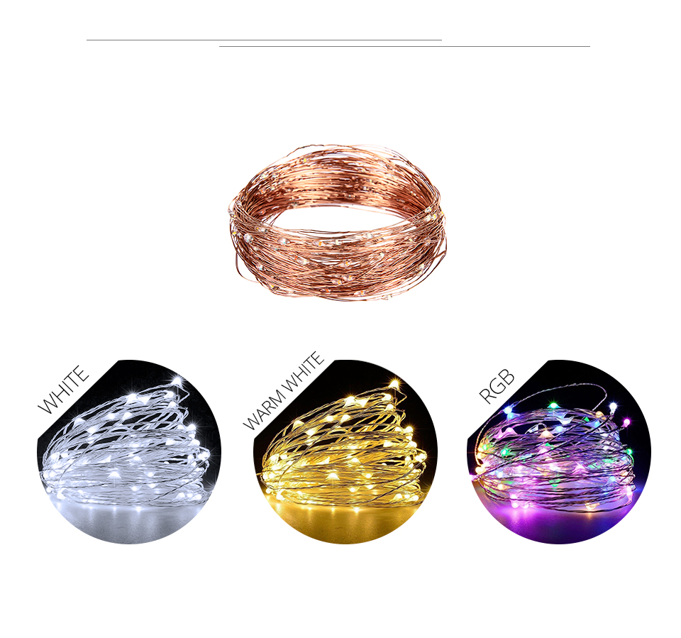 10M 20M Solar Power LED Garland Christmas Tree Fairy String Lights Chain Copper Wire Home Outdoor Christmas Holiday Decoration (8)