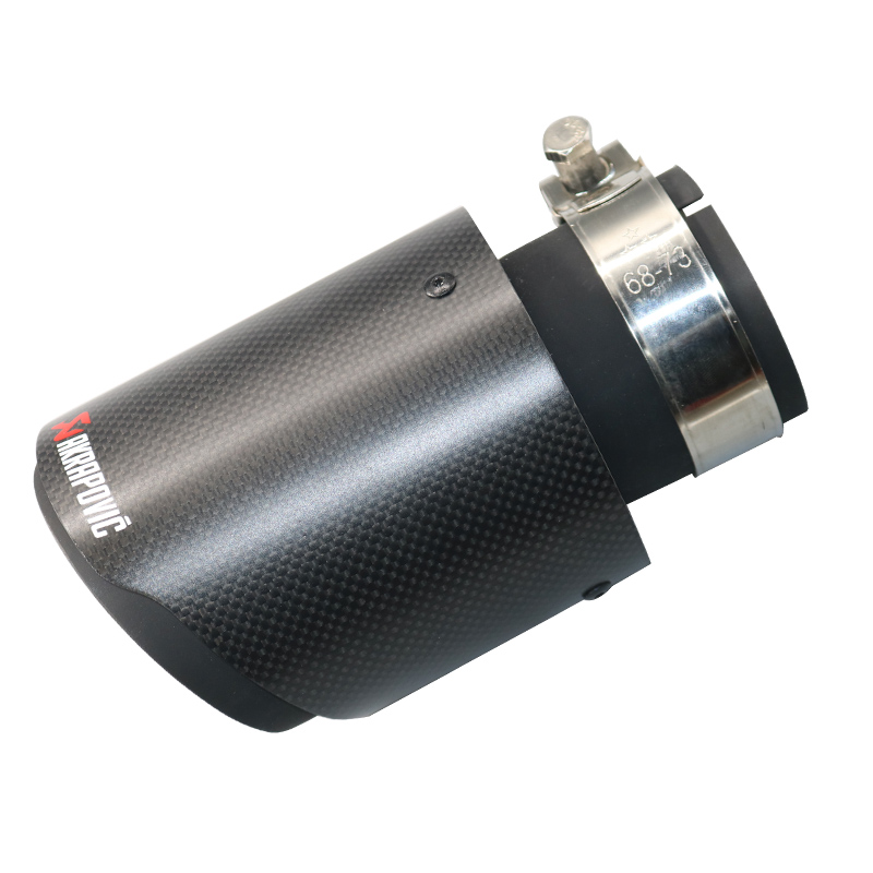 Different Sizes Of Black Pipe Carbon Fiber exhaust tip Stainless Steel Universal Muffler tipsDifferent Sizes Of Black Pipe Carbon Fiber exhaust tip Stainless Steel Universal Muffler tips