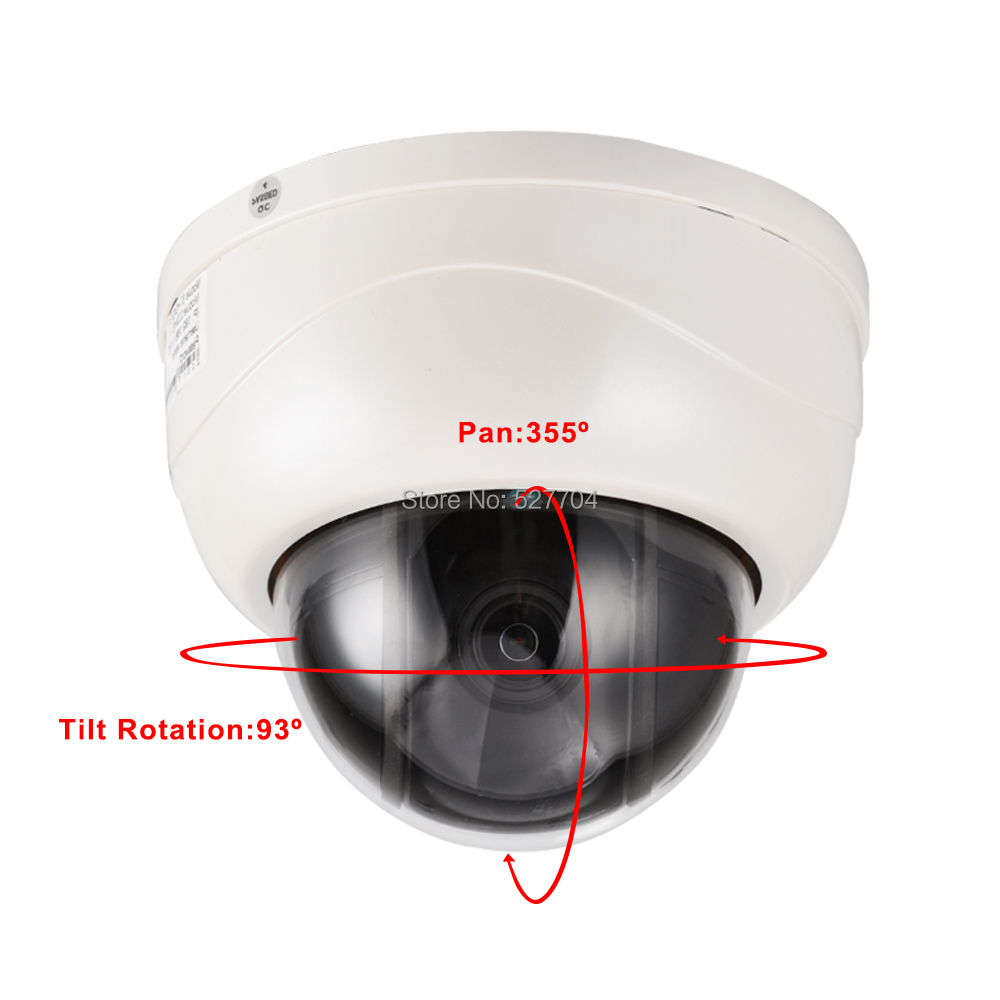 CCTV Security HD 1080P Dome PTZ IP Camera H.264 H.265 2MP Pan Tilt 5X ZOOM 2.7~13.5mm lens P2P Mobile View Day Night IR 40M