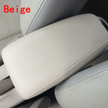 For 08-14 Honda City Central hand luggage case car armrest box leather interior modification