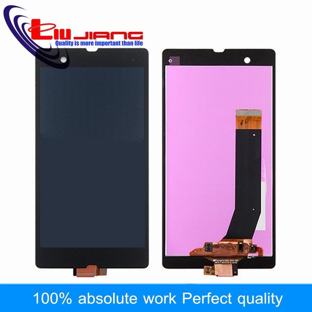 Liujiang 5.0 ''Display LCD Touch Screen Digitizer Assembly Per Sony L36h lcd L36i C6603 C6602 C6606 C6601 Parti di Ricambio