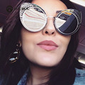 AOUBOU Fashion Women Sunglasses Cat Eye Luxury Brand Designer Sun glasses Female Rivet Bead Shades Eyewear UV400 7124