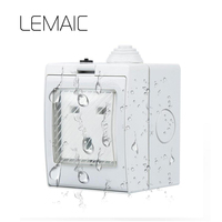 LEMAIC US UK AU Standard Power Control Wireless WiFi Smart Socket Timer Power Plug 16A IOS
