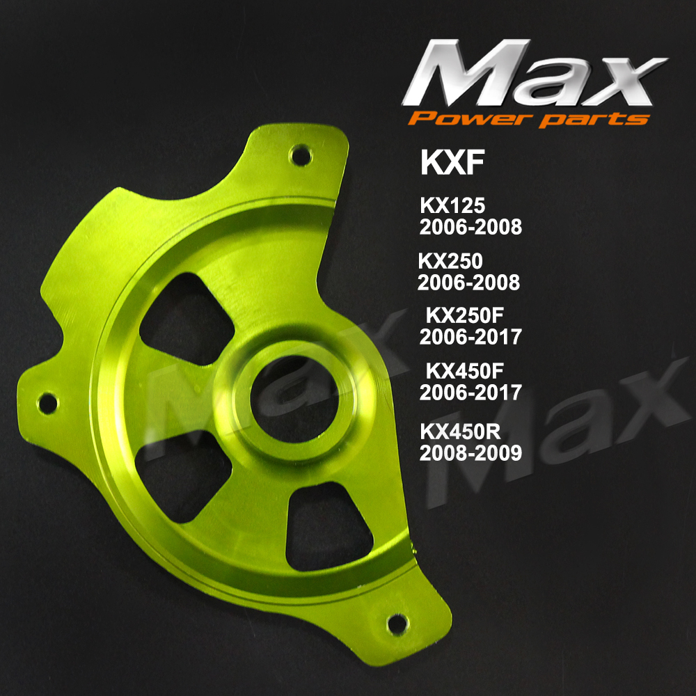 KX125 KX250 2006-2008 KX250F KX450F 2006 KX450R Front Brake Disc Rotor Guard Protector Cover For Dirt Pit Bike Enduro Motorcycle 2006