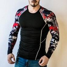 Teen Wolf Slim Fit Bodybuilding 3D Print Men T-shirt
