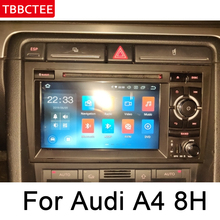 For Audi A4 S4 RS4 8E 8H 2002~2008 MMI Android car dvd player radio GPS navigation multimedia system WIFI BT AUX Head Unit android car no dvd player gps navigation autostereo radio for audi a4 a5 q5 2009 2015 multimedia radio tape recorder touch scree
