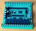 Stm32 placa 20mr plc fx1n plc controlador lógico programável único 12 ponto 8 ponto de saída de relé de entrada placa fx2n plc PLC117 #