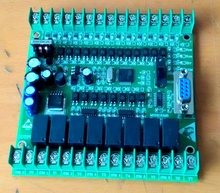 Plc программируемый логический контроллер одноместный плата плк fx1n 20mr stm32 12 точка входа 8 выход реле точки fx2n плк доска PLC117 #