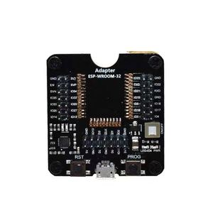 Image 2 - Esp32 테스트 보드 버너 굽기 고정 장치 ESP WROOM 32 burning block 용 원 클릭 다운로드
