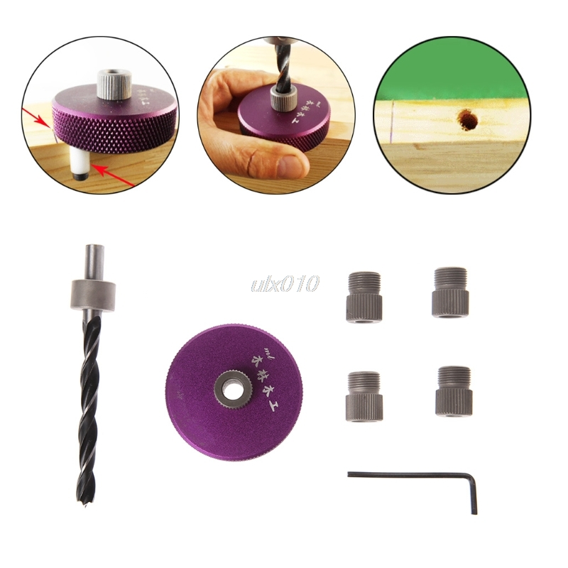 Joinery System Kit Vertical Hole Jig Puncher Drilling Guide Woodwork Locator New S09 Drop ship