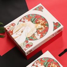 Fashionable gift box Customized european art Carton Creativity Business Haute Couture Large