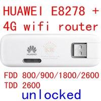 Unlocked Huawei E8278 4G 150Mbps Lte 4g USB Wifi Modem 4g Wifi Dongle 4g Wifi Router