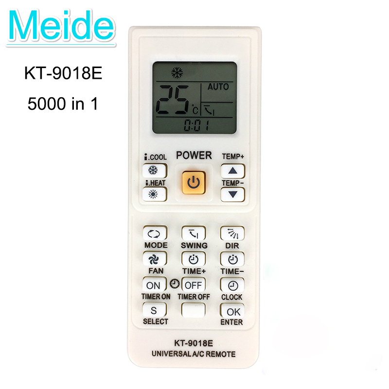 5000 in 1 High Quality Air Conditioner General Remote Control For AUX /Electrolux /Fujitsu /Gree /DAIKIN /TCL Conditioning