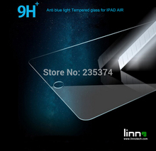For IPAD AIR 0.3mm 2.5D protective film Eyes Care Anti UV ray,Anti blue light Tempered Glass Screen Protector for Apple IPAD AIR