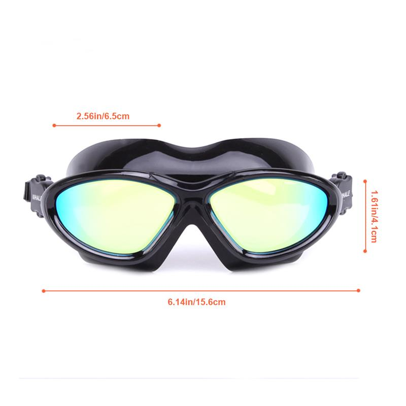d30a25d8257 RUNACC Adults Swim Goggle Swim Goggles Portable Swimming Glasses with with  UV and Anti fog Protection-in Swimming Eyewear from Sports   Entertainment  on ...