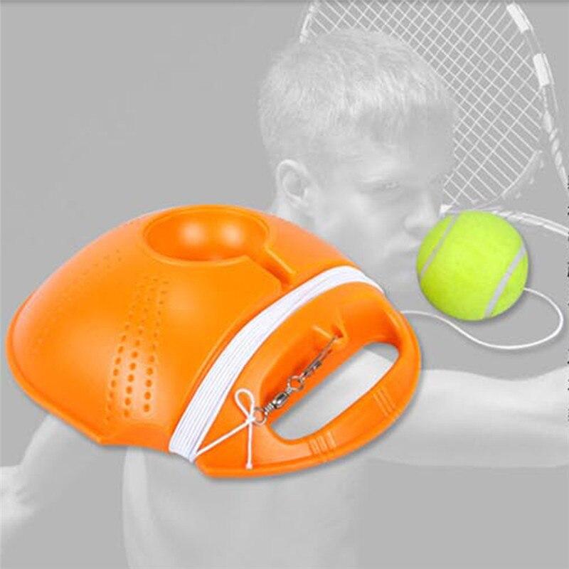 החובה כבדה תרגיל כלי אימון טניס כדור טניס ספורט כדור עם טניס מאמן מכשיר פנלים ריבאונד לימוד עצמי