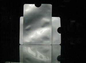 Image 3 - 100pcs/lot blank Anti Theft RFID Credit Card Protector RFID Blocking Sleeves Aluminum Safety Shield holder free shipping