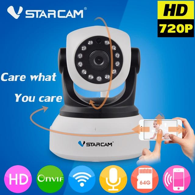 Vstarcam C7824WIP Wi-Fi Ip-камера Беспроводная WI-FI Камеры ВИДЕОНАБЛЮДЕНИЯ Видеонаблюдения Камара Onvif P2P Motion Функция Обнаружения Крытый Cam