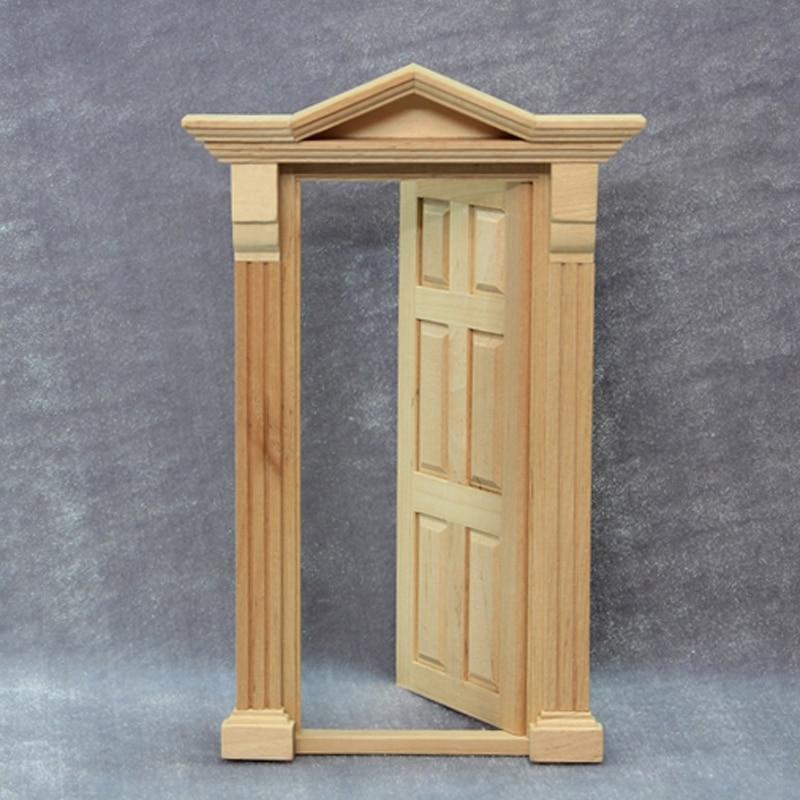 112 Miniature Wooden Dollhouse Door DIY Play Doll House Door Models Furniture Accessories Item & Play Doors u0026 ... 100 Doors 4 Free- Screenshot Thumbnail ... pezcame.com