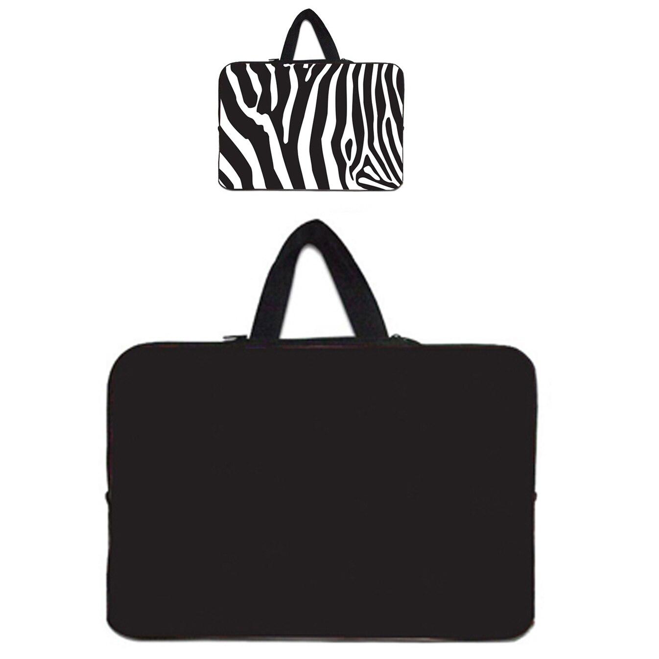 10 15 14 12 13 17 Inch Sleeve Neoprene Notebook Bags For Sony Lenovo Yoga Dell HP Envy Laptop Case 13.3 Inch Handbag Fashion Bag