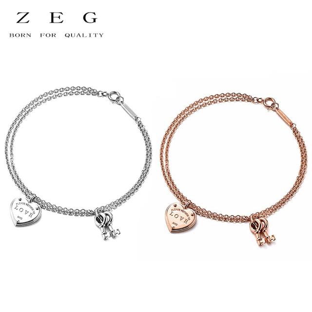 Zeg High Quality 100 Sterling Silver Original 1 Bracelet Has Logo Women Jewelry