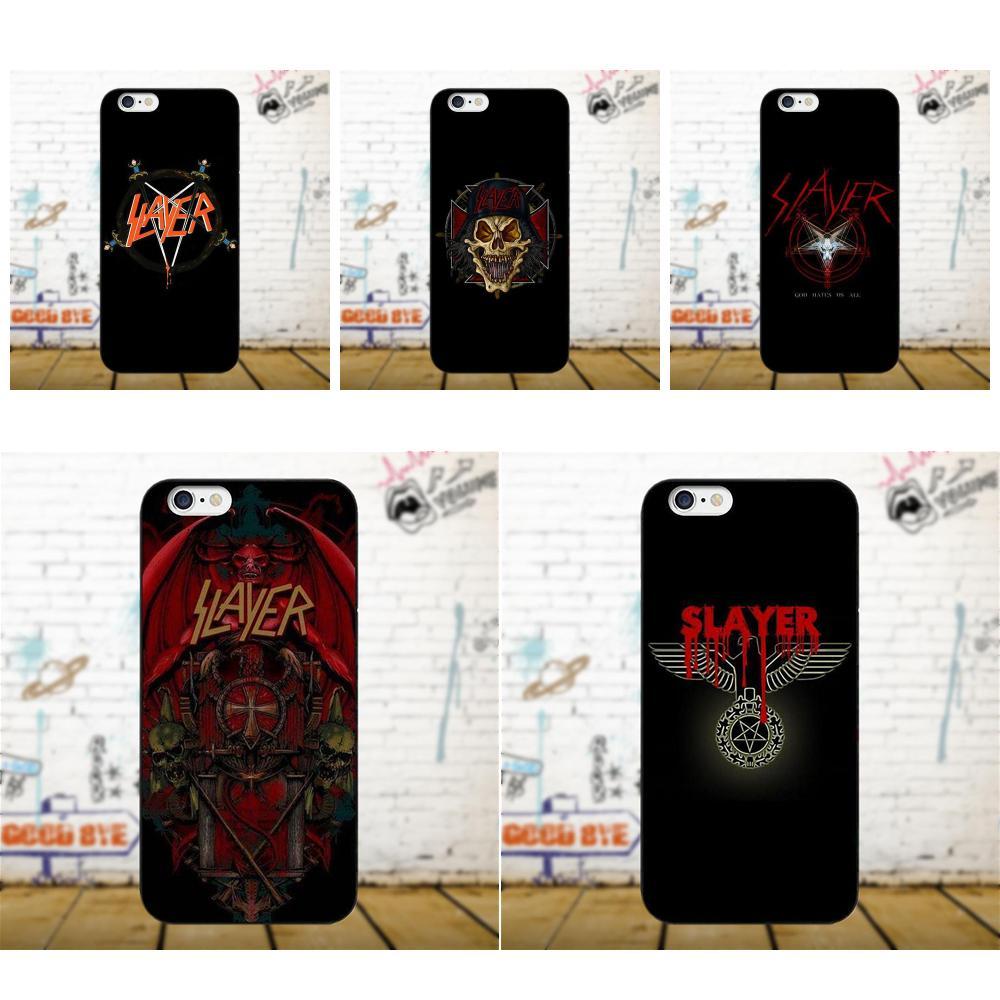 Slayer Heavy Metal Rock Band Amazing For Apple IPhone X 4 4S 5 5C 5S SE 6 6S 7 8 Plus For LG G3 G4 G5 G6 K4 K7 K8 K10 V10 V20