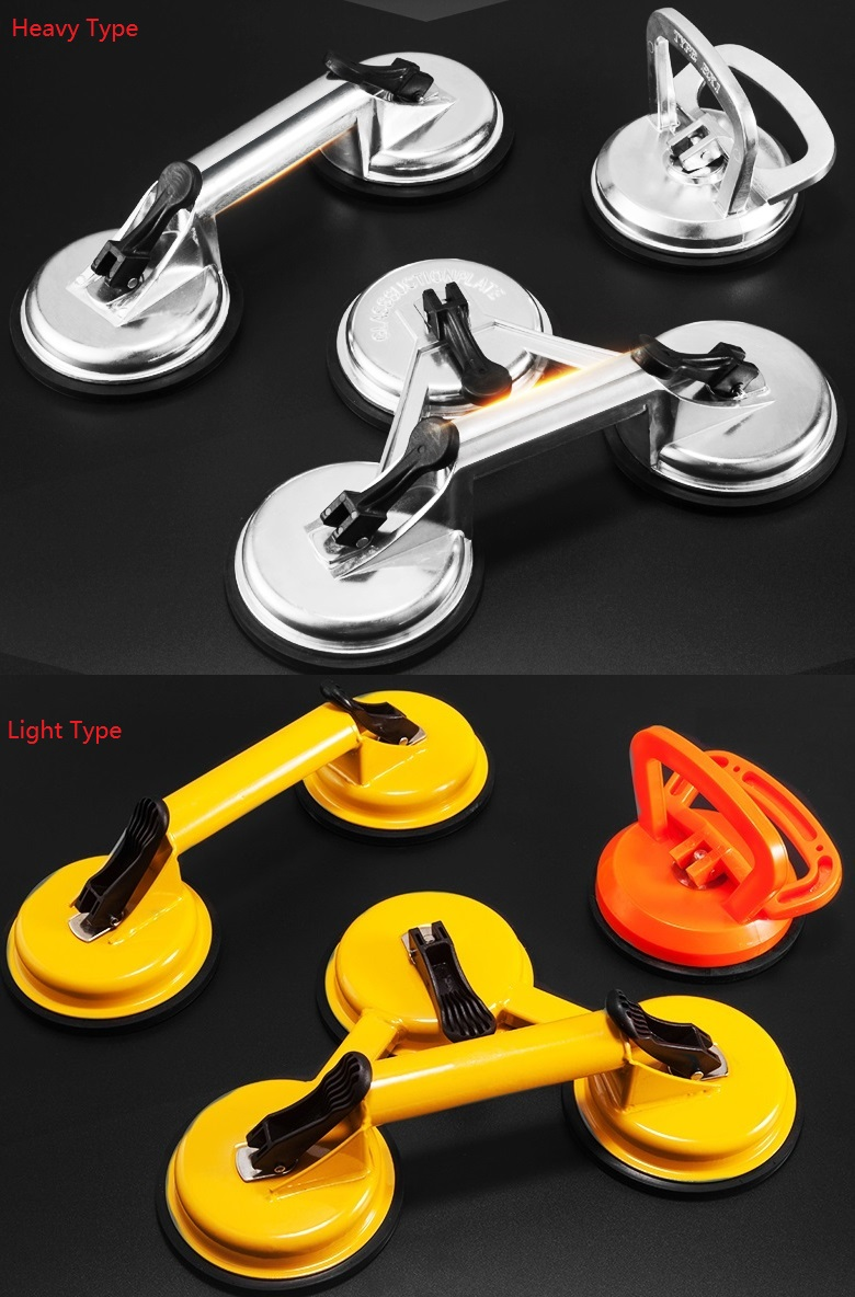 ALUMINUM VACUUM SUCTION LIFTER SUCKER SUCTION CUP PAD Dent Puller Remover Glass Carrying Handle Lifter clear white water resistance vacuum equipment suction cup sucker