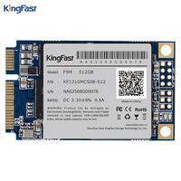 Kingfast F9M stabiele prestaties PC interne Msata SSD 512 GB SATAIII MLC flash met cache Solid State Drive voor ultrabook/tablet
