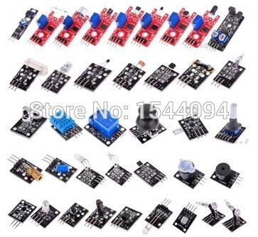 37 pcs Sensor de módulo Suíte Kit Básico para Arduino