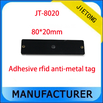 860 Mhz ~ 960 Mhz UHF <font><b>RFID</b></font> Anti-metall tag mit 80*20 MM für metall management image