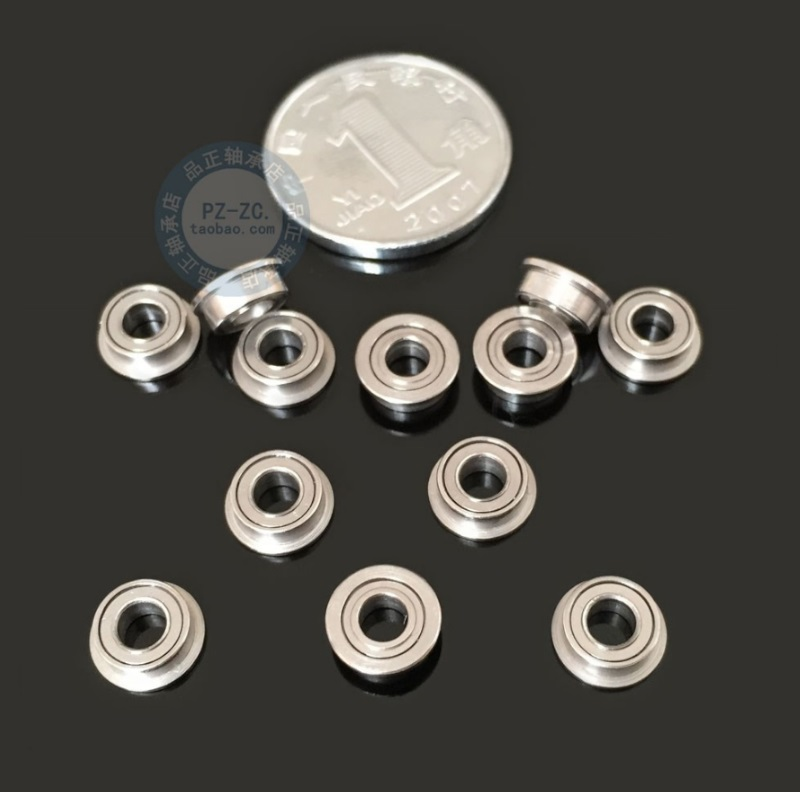 MF73ZZ Mini roulement à billes 3x7x2.5mm 3x7x2mm à bride Miniature roulement à billes