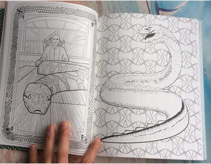Groß Harry Potter Malbuch Fotos - Druckbare Malvorlagen - amaichi.info