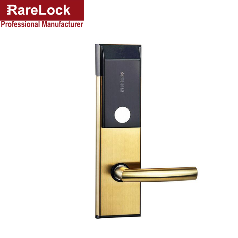 LHX Digital Electric Hotel Lock Best RFID hotel Electronic Door Lock For Flat Apartment a model jc118e c best hotel electric lock for apartment