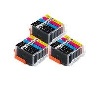 Bloom pgi 150 cli 151 cartucho de tinta compatível para canon pixma mg7510 ip7210 ip8710 mx721 ix6810 impressora