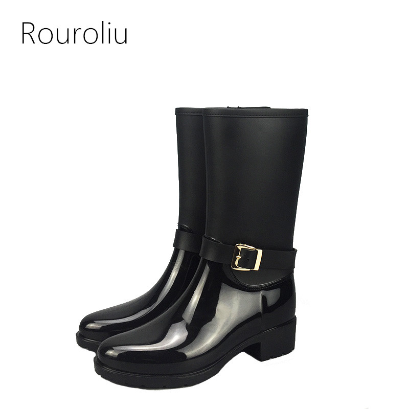 Popular Zipper Rain Boots-Buy Cheap Zipper Rain Boots lots from ...