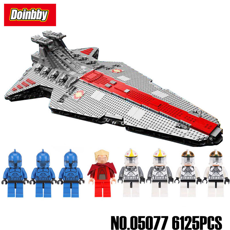 Lepin 05077 The UCS Rupblic Star Destroyer Cruiser ST04 Set Building Blocks Bricks Toys Compatible Legoings Star Wars lepin 05077 star destroyer wars 6125pcs classic ucs republic cruiser funny building blocks bricks toys model gift