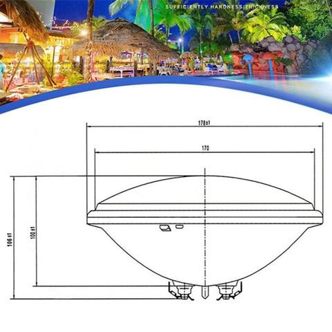 RGB Par56 Swimming Pool Light IP68 AC12V AC24V SpotLight 15W 18W 24W Fountain Bulb IP68 Waterproof Underwater Outdoor Light Lamp Multan