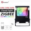 Gledopto smart zigbee 10 W led прожектор RGB + cct ww/cw открытый свет работать с шлюз эхо плюс AC100-240V AU EU US UK Plug