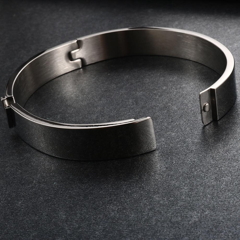 Trendy V Shape RVS Armbanden & Bangles voor vrouwen Vrouwelijke - Mode-sieraden - Foto 5